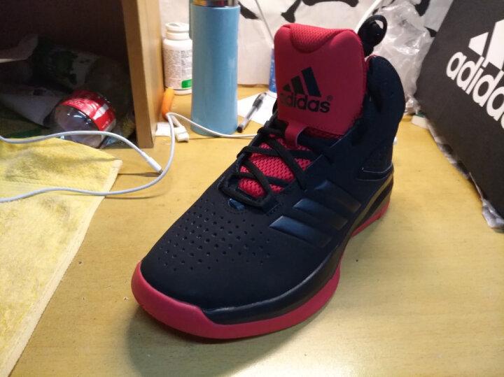 阿迪达斯adidas 官方 篮球 男子 场上款篮球鞋 1号黑色 S85584 如图 43.5 晒单图