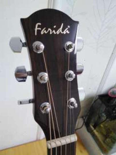 萨伽(SAGA) 单板民谣吉他木吉他初学者乐器 41寸缺角 S50CE【双单】 晒单图