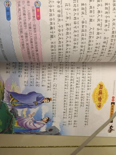 成语故事大全注音版全4册一二三年级小学生课外书拼音读物 7-10岁少儿童睡前绘本故事书 晒单图