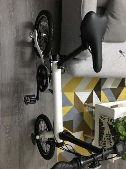 米家(MIJIA)小米 米家骑记自行车 电动车 智能电助力 力矩传感折叠自行车 电动自行车 白色 晒单图