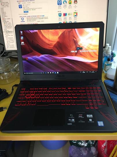 华硕(ASUS) 飞行堡垒5 15.6英寸游戏笔记本电脑(i7-8750H 8G 128GSSD+1T GTX1050Ti 4G IPS)火陨红黑(FX80) 晒单图
