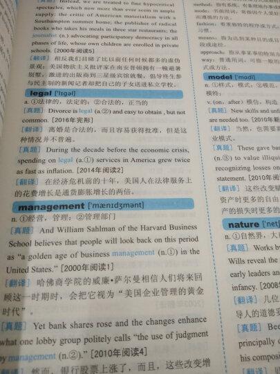 中公教育2018考研英语:真题词汇分频记忆 晒单图