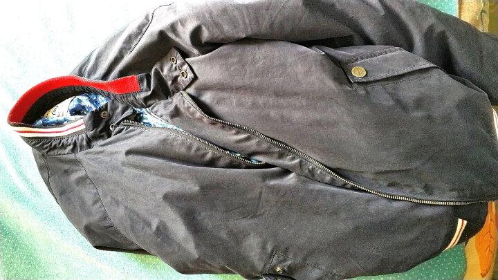 Kappa卡帕 男款羽绒服运动外套 保暖上衣  K0752YY26 深海蓝-888 M 晒单图