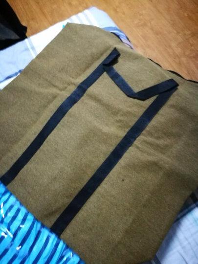 美乐佳 特厚帆布袋特大搬家袋 防水行李袋加厚大容量手提旅行包80*45*25cm 晒单图