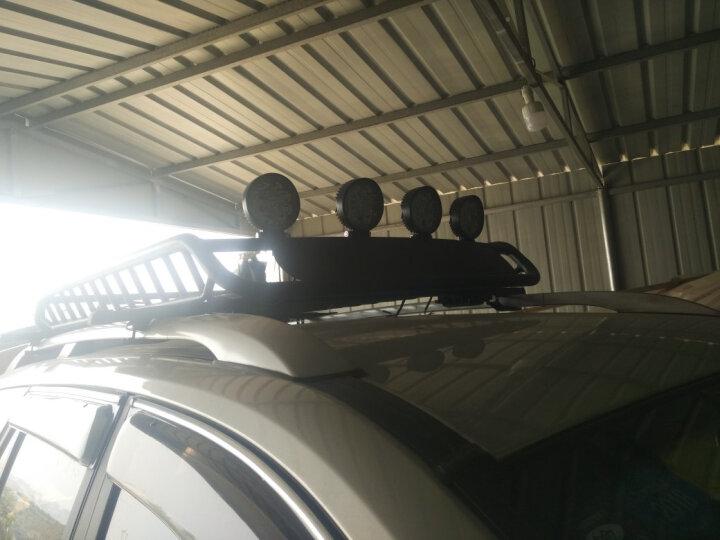 SCAR 越野车灯顶灯射灯LED探照灯汽车大灯前照灯改装灯货车灯车外灯辅助车灯通用配件 27W 泛光型射灯/个 圆形 晒单图
