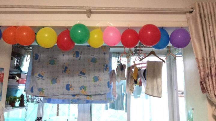 青苇 生日派对套装 生日帽 彩旗拉条 礼炮礼花筒 吹吹卷 气球 气筒 晒单图