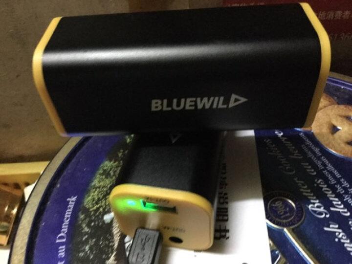BLUEWILD蓝野 XMK-T6 N95 高亮自行车前灯/USB充电单车灯/头灯强光 单个灯头 黑色 可连充电宝使用 晒单图