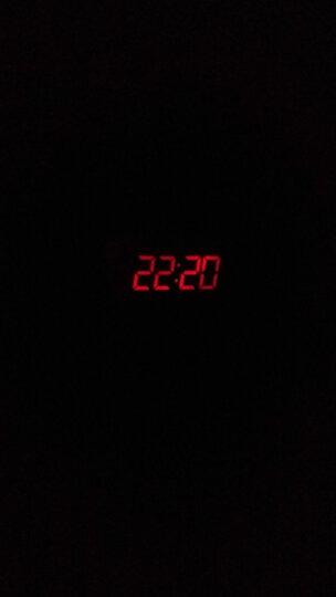 欧西亚(Oregon Scientific) 欧西亚 闹钟投影钟卧室静音电子时钟 室内温度计学生闹铃 白色 晒单图