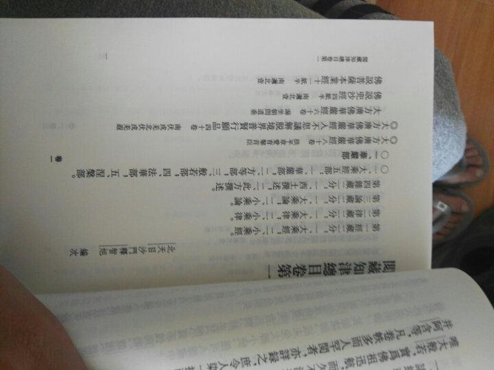 中国佛教典籍选刊:阅藏知津(套装上下册) 晒单图