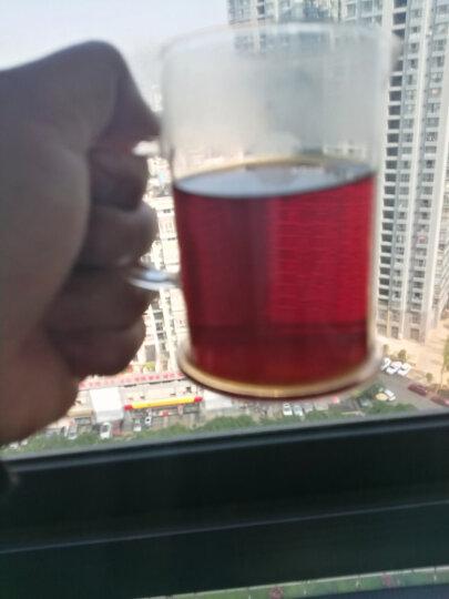行吉茶业 云南普洱茶熟茶普洱茶饼普洱茶砖古树普洱茶叶250g 深红色 晒单图