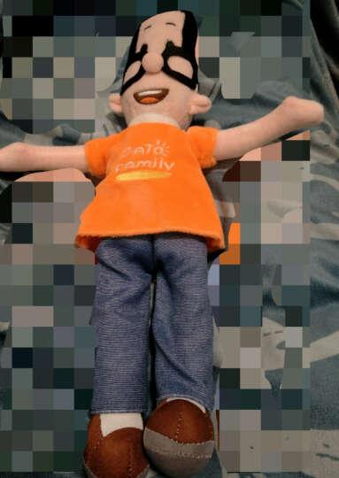 大头儿子和小头爸爸毛绒玩具公仔 卡通玩偶布娃娃生日礼物 运动装迷你小号22厘米 儿童礼品 晒单图