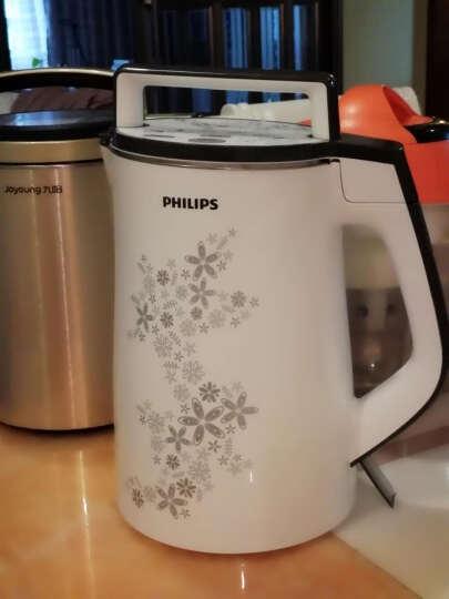 飞利浦(PHILIPS) 多功能豆浆机 全自动无网研磨免过滤 不锈钢杯体 HD2072/01 晒单图