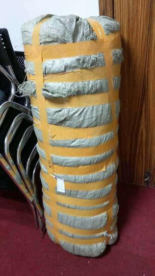 装修地面保护膜木地板瓷砖门窗地毯PVC复合针织棉防护垫厚双层 1MM珍珠棉,50平方 晒单图