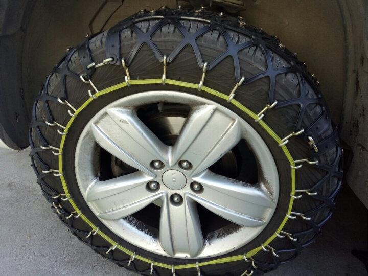 汽车防滑链轿车面包车越野车雪地轮胎防滑链条牛筋加厚橡胶免千斤顶全覆盖防滑链 QE-14(两条) 晒单图