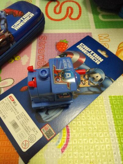 迪士尼(Disney)火车头削笔机/削笔器卷笔刀/漫威铅笔刀 DM29084A1蓝色 晒单图