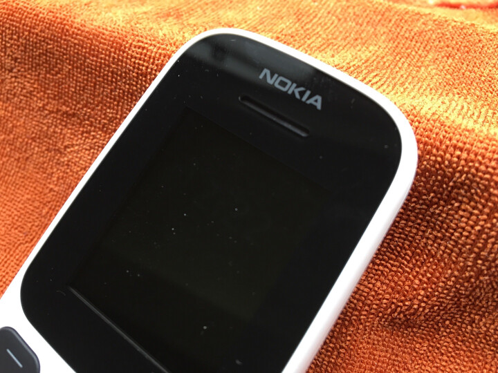 新诺基亚(NOKIA)105 白色 直板按键 移动联通2G手机 老人手机 学生备用功能机 晒单图
