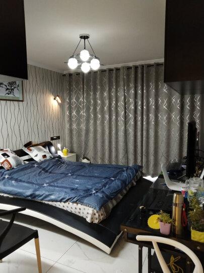 优洋 LED创意台灯 卧室床头学习台灯触控调光充电台灯 黑色 含适配器 晒单图