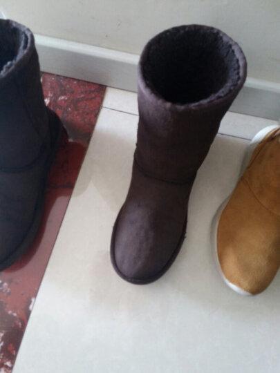 兽皮大王(SHOU PI DA WANG) 鞋粉翻毛皮鞋清洁护理喷剂套装磨砂绒面皮翻新雪地靴磨砂粉补 黑色 晒单图