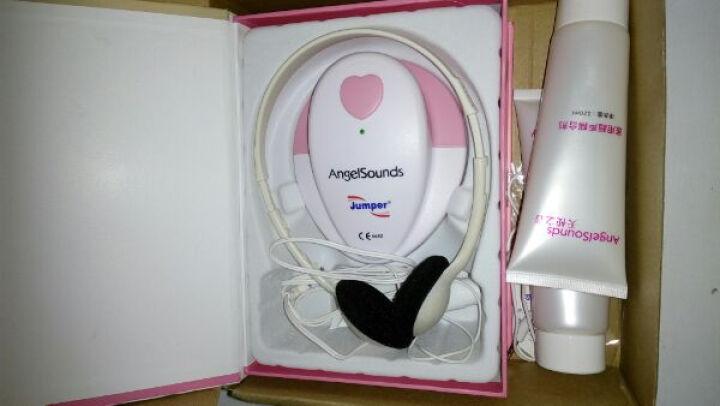 天使之音(Angelsounds) 天使之音胎心仪 孕妇家用多普勒胎儿胎心监护仪胎心监测仪 胎心仪 赠3支耦合剂 晒单图