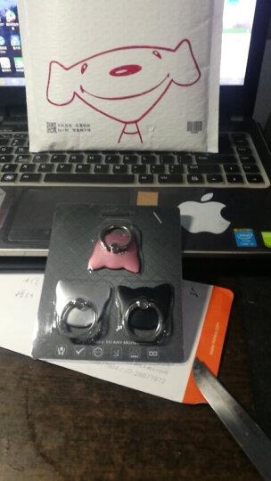 【三件装】岳迩(YUEER)创意手机指环扣支架 猫头指环扣支架 适用于苹果/三星/小米/华为等通用-玫瑰金+银+黑  晒单图
