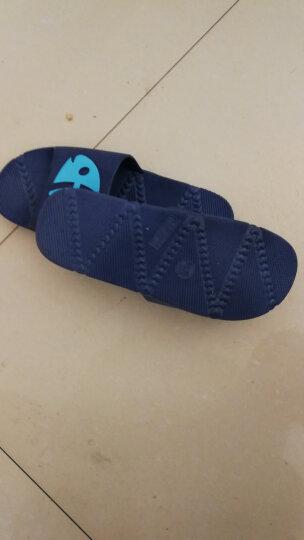始丰儿童拖鞋男女童保暖包跟家居防滑卡通小孩软底棉鞋 豆绿【包跟】 22码【内长20cm】 晒单图