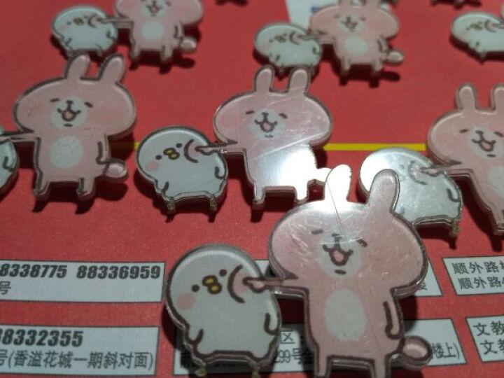 韩国时尚百搭卡通胸针日本原宿亚克力徽章小清新可爱粉兔子美少女仙女胸针个性创意背包饰品 #22仙女 晒单图