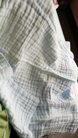 全棉时代(PurCotton) 礼盒装新生儿纱布浴巾水洗浴巾6层95x95cm白色 1条/盒 晒单图