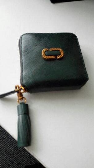 意大利袋鼠(L'ALPINA)简约玲珑淑女优雅短款两折钱包女女包女士包包钱夹女ins 秋柿橙 晒单图