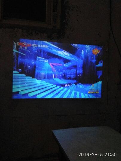 Rigal 瑞格尔投影机 家庭影院808/810WiFi手机无线投影仪办公 家用 标配版无wifi无手机同屏 白色810 晒单图