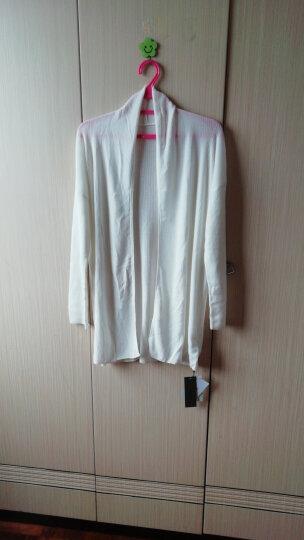 玛思蓓丝2018夏装新款天丝棉中长款薄针织衫女开衫韩版长袖开衫外套 TS-53 浅绿色 L/110 晒单图