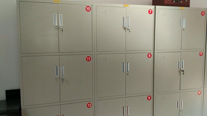 丛色(Congce)数字标签 月份不干胶 圆形号码贴纸编号贴纸标签序号标签序列编号 红色1-12号  直径6.5cm 120贴 晒单图
