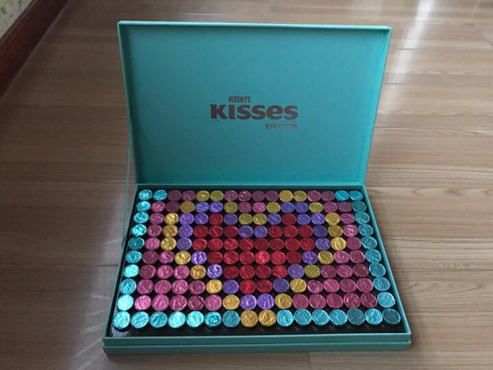 好时之吻Kisses巧克力生日礼盒创意心意拼制浪漫礼物430g(女版) 送女友 晒单图