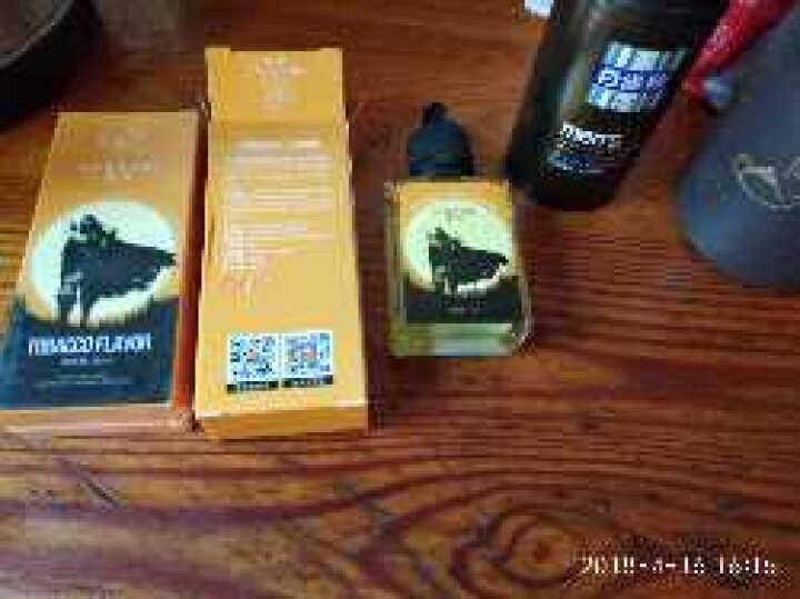 墨攻电子烟烟油大烟雾蒸汽烟液30ml烟草水果口味 茉莉绿茶(3mg) 晒单图