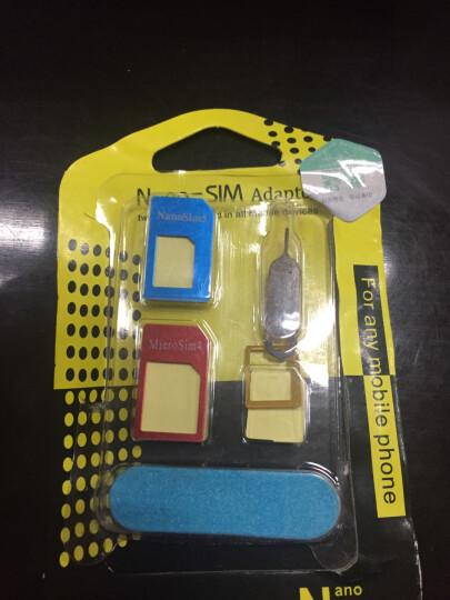 HeeWee sim卡套苹果iphone5s/4s卡托/还原卡槽 手机卡套小卡转大卡还原器 SIM卡套 晒单图