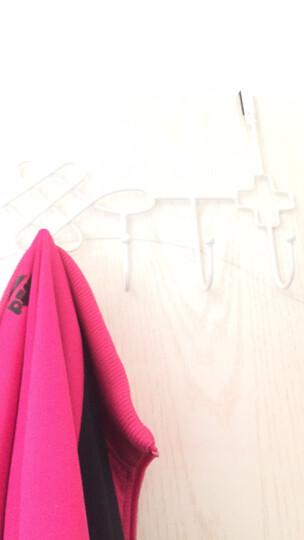 凤全创意铁艺门后挂钩无痕粘钩 厨房衣架挂衣钩衣服壁挂免钉衣挂 黑色(中国结) 晒单图