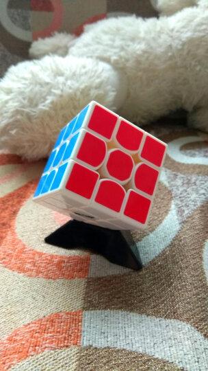魔方格雷神3阶比赛专用魔方三阶减压玩具含教程送配件已打磨润滑免运费 原色 晒单图