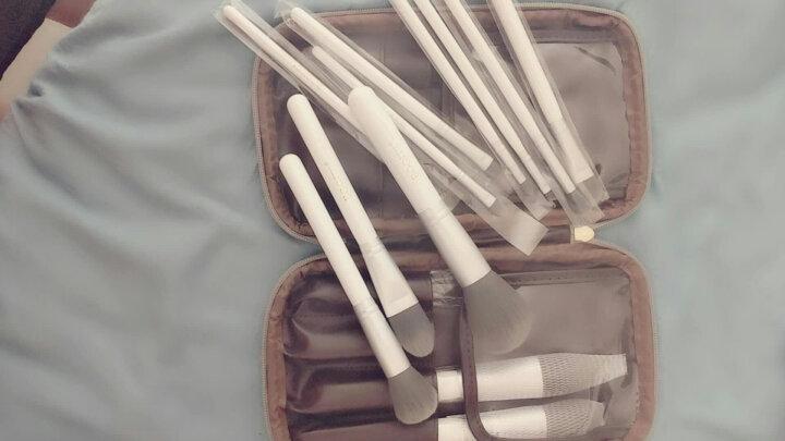 芭淇(BOQITS) 化妆刷套装 专业化妆套刷包 化妆刷收纳桶装便携化妆刷子套装粉底刷眼影刷唇 12支包装 晒单图