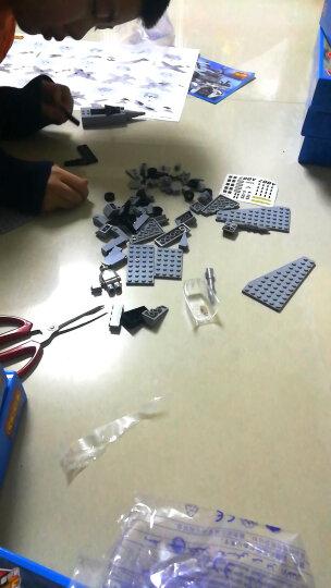 8合1航母积木玩具男孩兼容乐高军事拼装模型益智儿童智力玩具立体拼插6岁以上 8合1海洋巡洋舰1411 晒单图