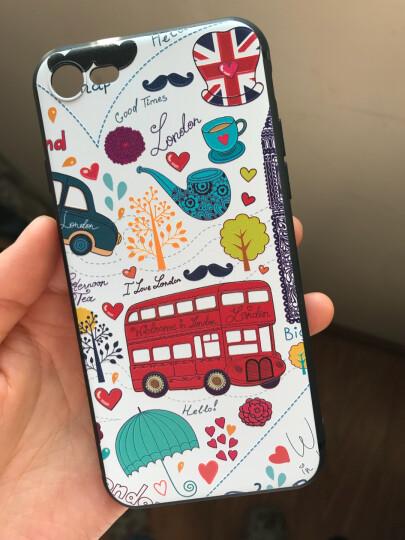 江铭苹果XS MAX手机壳iPhone8Plus防摔软XR保护套6s磨砂7手机套卡通薄女款创意可爱 苹果XR-英伦汽车 晒单图