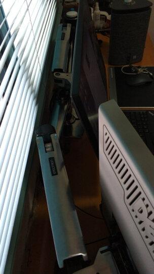 爱格升(Ergotron)45-245-026 显示器双屏支架旋转电脑架桌面架十年原厂质保 10-27英寸 晒单图