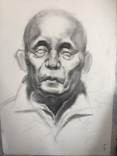 施德楼(Staedtler)素描铅笔100蓝杆专业绘画绘图学生速写笔速炭笔 8B 单支装 晒单图