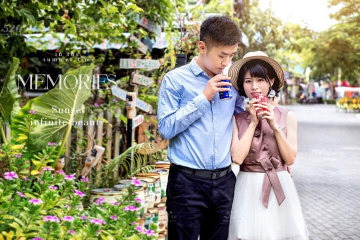深圳520婚纱摄影 拍摄海景韩式外景结婚相旅拍婚纱照团购工作室 6999全款 晒单图