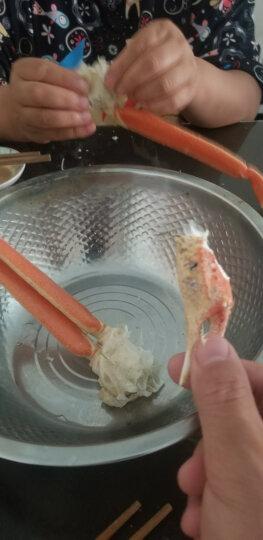 鲜有汇聚 鳕蟹腿/蟹脚  皇后蟹  螃蟹肉500克 晒单图