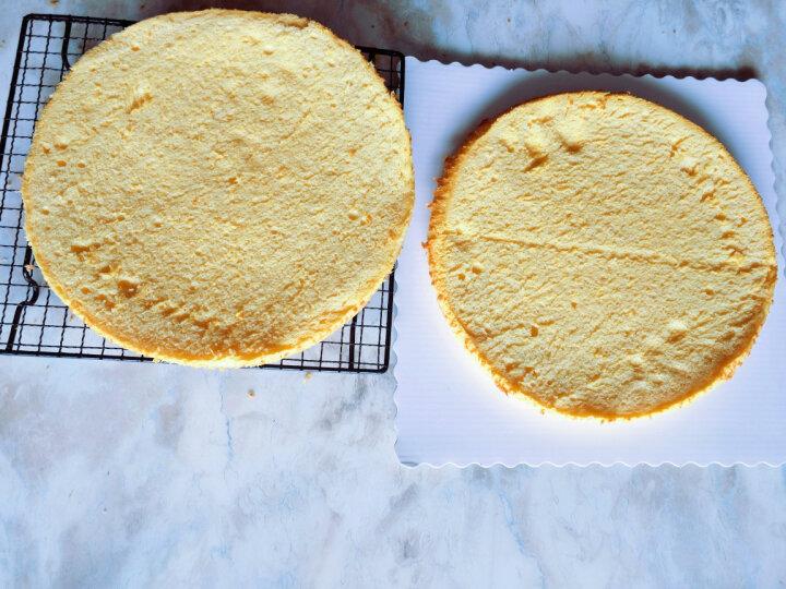 阳晨(YANGCHEN) 蛋糕分割器分层器分片切片器夹层切割器蛋糕锯刀蛋糕分层 银色 晒单图