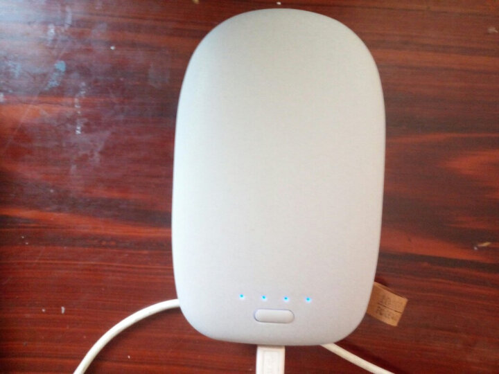 Leoisilence 鹅卵石移动电源10000毫安手机通用卡通大容量毫安充电宝 大地棕色 晒单图