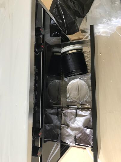 TCL 集成灶 侧吸式环保灶 双电机自动清洗抽油烟机灶具消毒柜套装 钢化玻璃触控面板 14升级 14升级 液化气(20Y) 晒单图