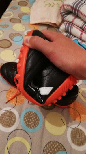 leoci 足球鞋 碎钉 男女 成人青少年儿童AG钉TF长钉训练鞋 学生比赛运动鞋45大码短钉鞋 8362 红 碎钉 42 晒单图