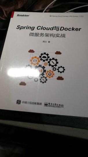 Spring Cloud微服务实战+Spring Cloud与Docker微服务架构 晒单图
