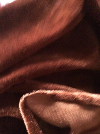 加厚红色黑色 金丝绒布料 绒布 背景布 会议桌布窗帘地摊布 面料 005#枣红 晒单图