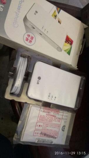 LG趣拍得 POPO相印机 手机便携相片打印机 手机照片拍立得 PD238T 白色专供版 晒单图